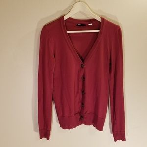 BDG by Urban Outfitters red cardigan